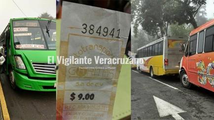 aumento a tarifas del transporte