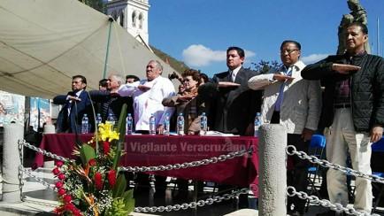 conmemoran a martires de rio blanco