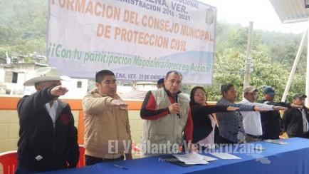 consejo de proteccion civil en magdalena