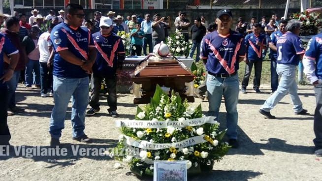 ultimo adios a Raúl Martin García Xocua