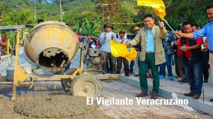 arranca pavimentación con concreto hidráulico en san sebastian