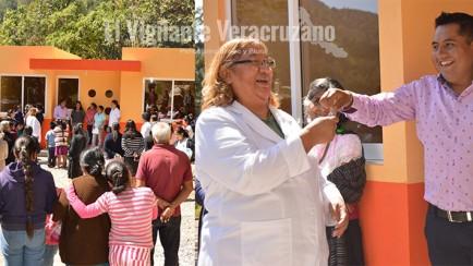 entrega raymundo namictle, casa de salud en teopancahualco