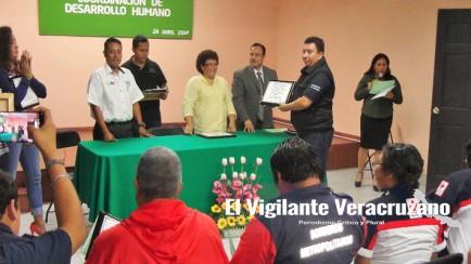 curso a protección civil en nogales