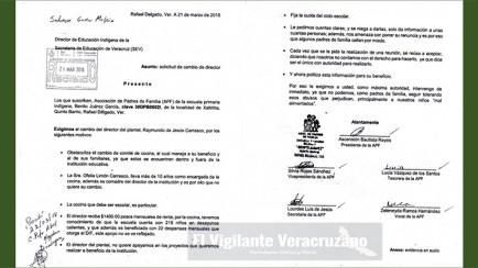 exigen destitución de director en primaria benito juarez