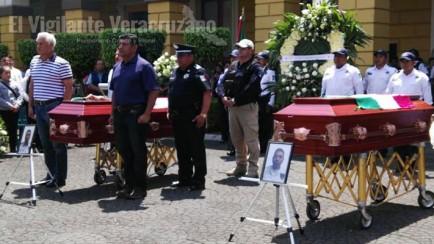 homenaje a policías caídos de orizaba