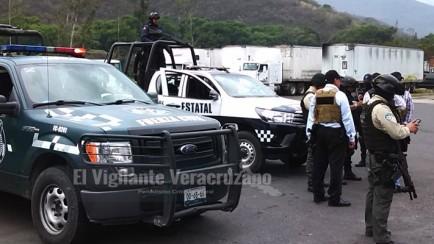 movilización policiaca por asesinato de jovencita en acultzingo