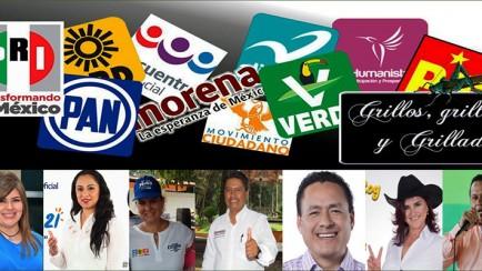 candidatos a diputados locales y federales
