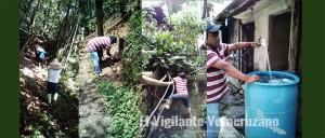 mantenimiento a red de agua en zongolica