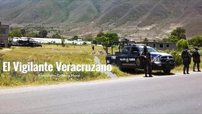 mega operativo de gendarmería en acultzingo