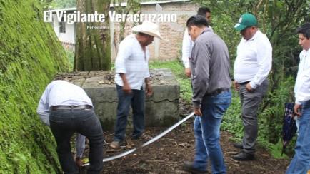 rehabilitan tanque de agua en atzacan
