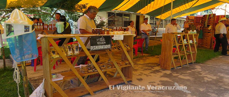 exposicion artesanal en zongolica