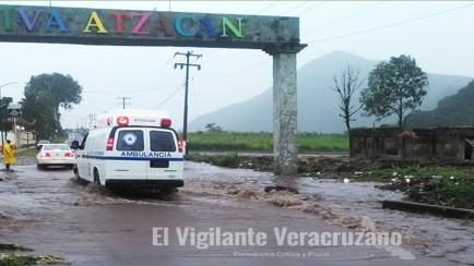 inundacion en atzacan