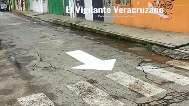 modifican sentido vial a calles en zongolica