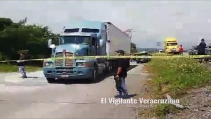 asesinan a trailero poblano en ixtaczoquitlan