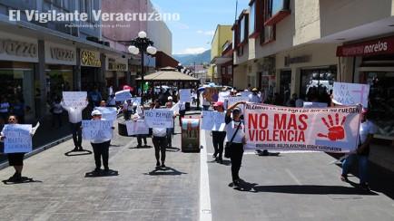 marchan contra la inseguridad en la region de orizaba3