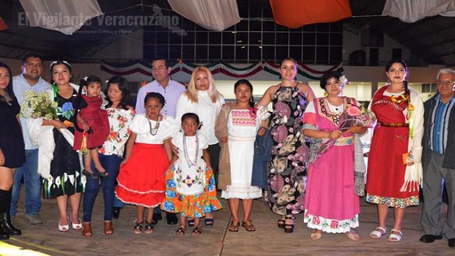 traje típico de La Perla veracruz