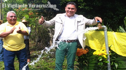 agua potabla para familias de ostok en zongolica