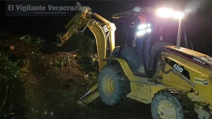 deslave bloquea la carretera federal Zongolica-Orizaba