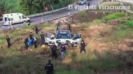 policia estatal muerto