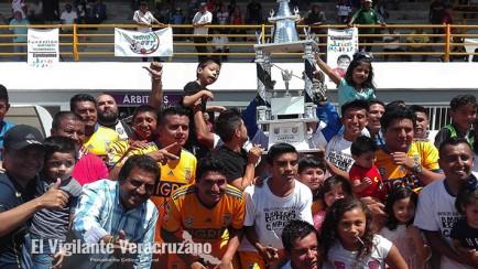 se disputarán título de la liga territorial de futbol
