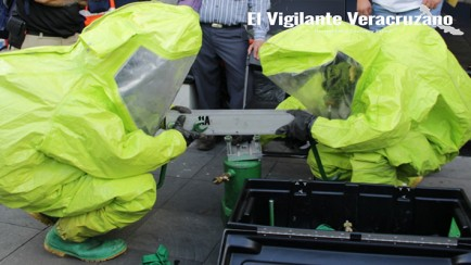 curso sobre emergencias químicas