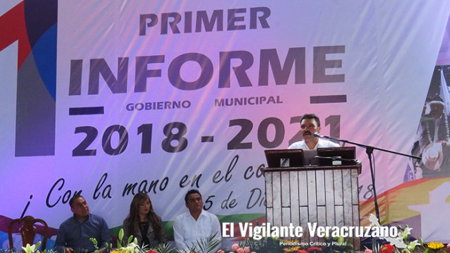 Primer Informe de Gobierno en Acultzingo
