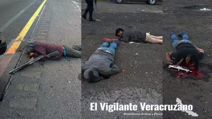 ejecutan a asaltatráilers