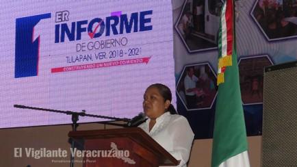 gabriela ramos ramírez rinde su primer informe de gobierno