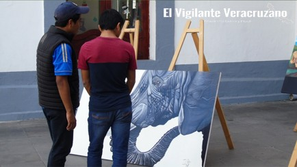 pintor rioblanquense expone en ciudad mendoza