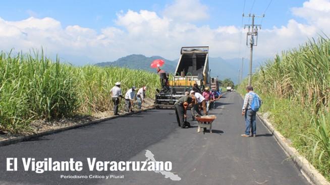reconstrucción de caminos en atzacan