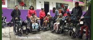 se benefician mendocinos con sillas de ruedas