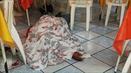 asesinado en el interior de una taquería en rio blanco