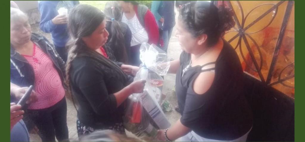 convive alcaldesa de magdalena con empleados y habitantes