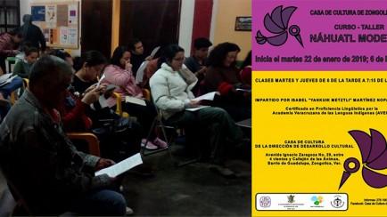 curso de náhuatl moderno en zongolica