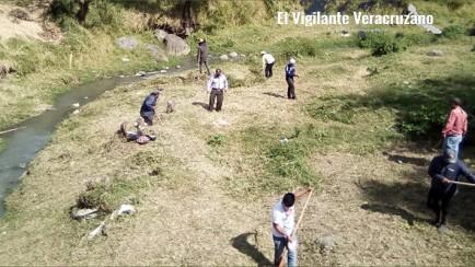 limpieza en rios de respuesta rápida