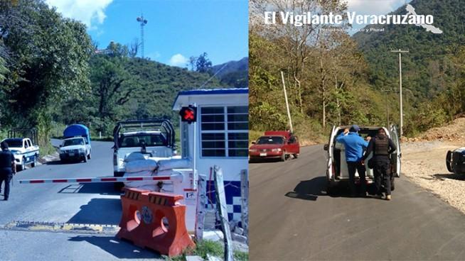movilizacion policiaca en zongolica por supuesto intento de sustraccion de menor