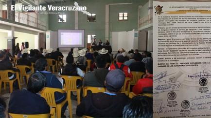 reunion sobre manifestación de transportistas