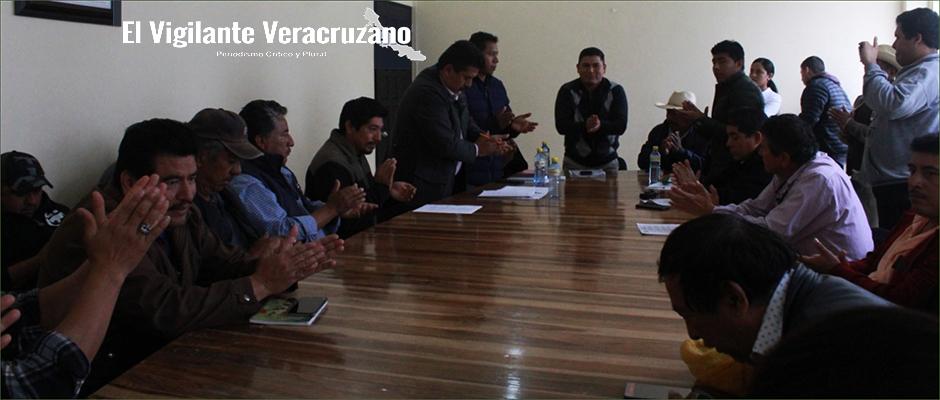 camioneros y autoridades de zongolica llegan a buenos acuerdos1