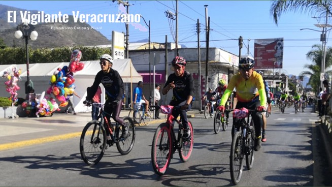 carrera ciclista en la cuesta