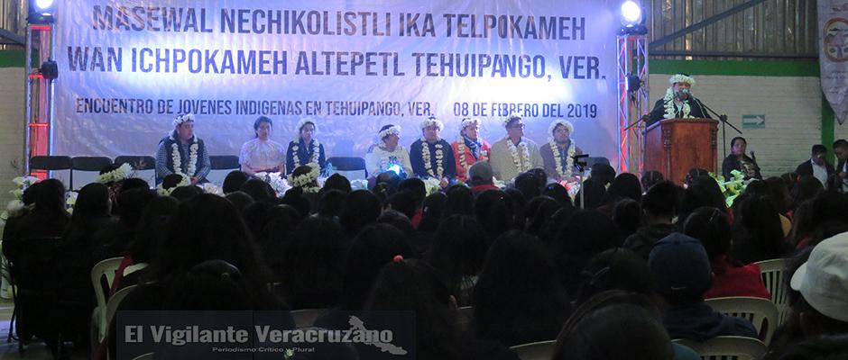 encuentro de jóvenes indígens en tehuipango3