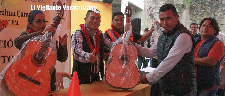 inauguran casa de cultura en san sebastian zongolica