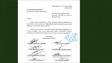 juicio político contra alcaldesa d erafael delgado