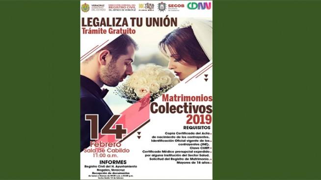 matrimonios colectivos 2019 en nogales