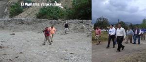 trabajos preventivos de saneamiento de las Represas Retenedoras de Sólidos