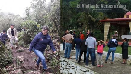 alcalde de zongolica recorre comunidades alejadas del municipio