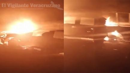 ataca CJNG a Fuerza Civil en Veracruz