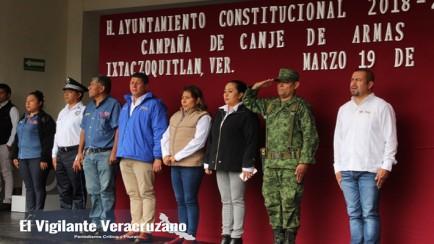 canje de armas en ixtaczoquitlán