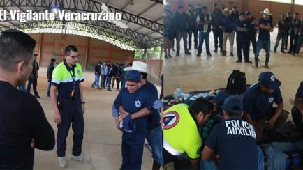 capacitacion a policias comuntarios de zongolica