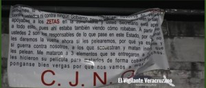 cartel de jalisco nueva generación advierte a secretario de seguridad pública de veracruz
