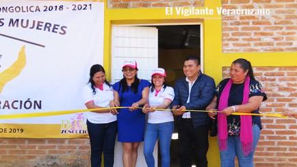 inauguran la villa de las mujeres en zongolica